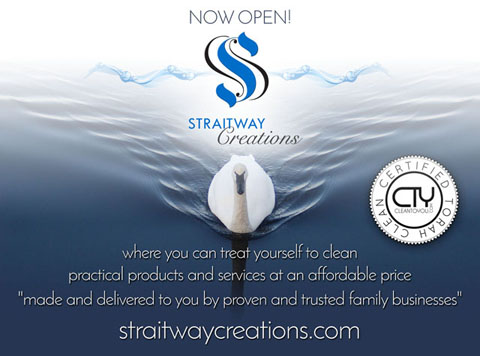 "StraitwayCreations - where you can treat yourself to clean practical products and services at an affordable price ""made and delivered to you by proven and trusted family businesses"" ~ via StraitwayTruth"
